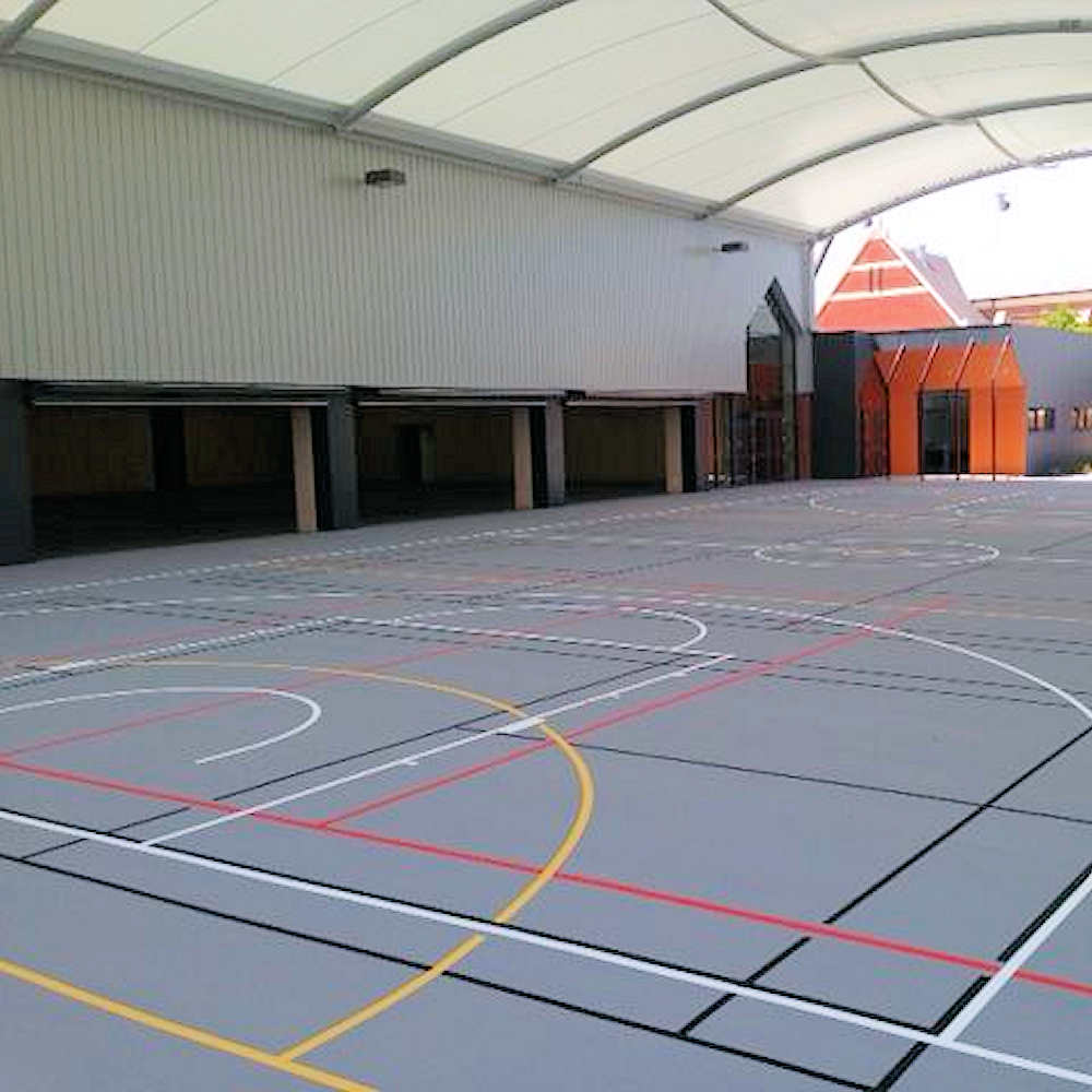 Acrylic Surface Tennis Courts