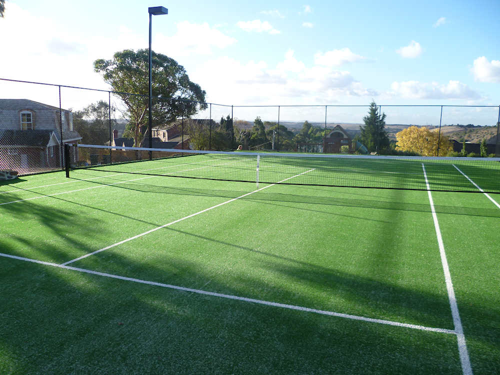 Ultracourts - Tennis Courts Sporting Accessories - White Sand Tennis Court