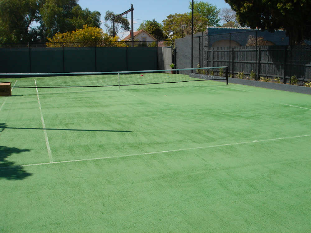 Ultracourts - Tennis Court Sporting Accessories - Green Sand Tennis Court