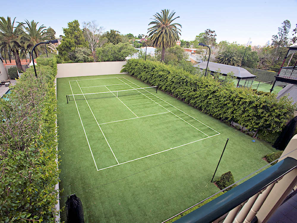 Ultracourts - Tennis Courts Sporting Accessories - Green tennis court sand