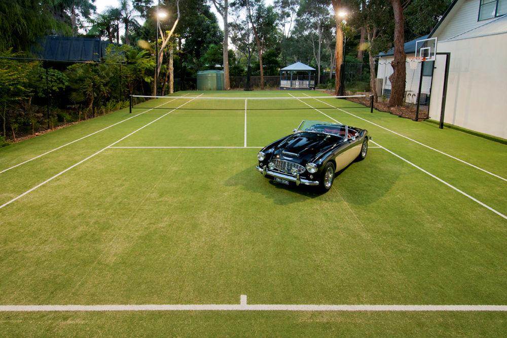 Melbourne Tennis Court Builders Synthetic grass Surface - Blackburn