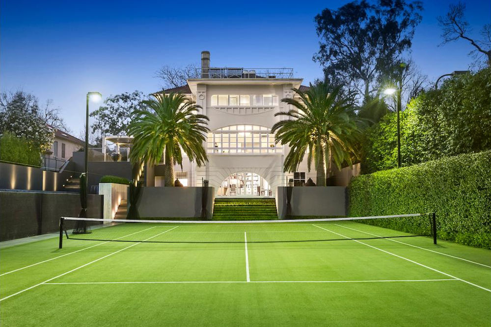 Synthetic Grass Surface- Toorak Tennis Court Court