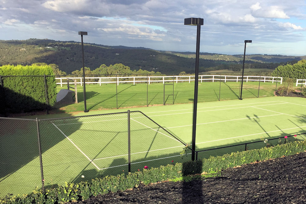 Synthetic Grass Surface - Harkaway Tennis Court Builders