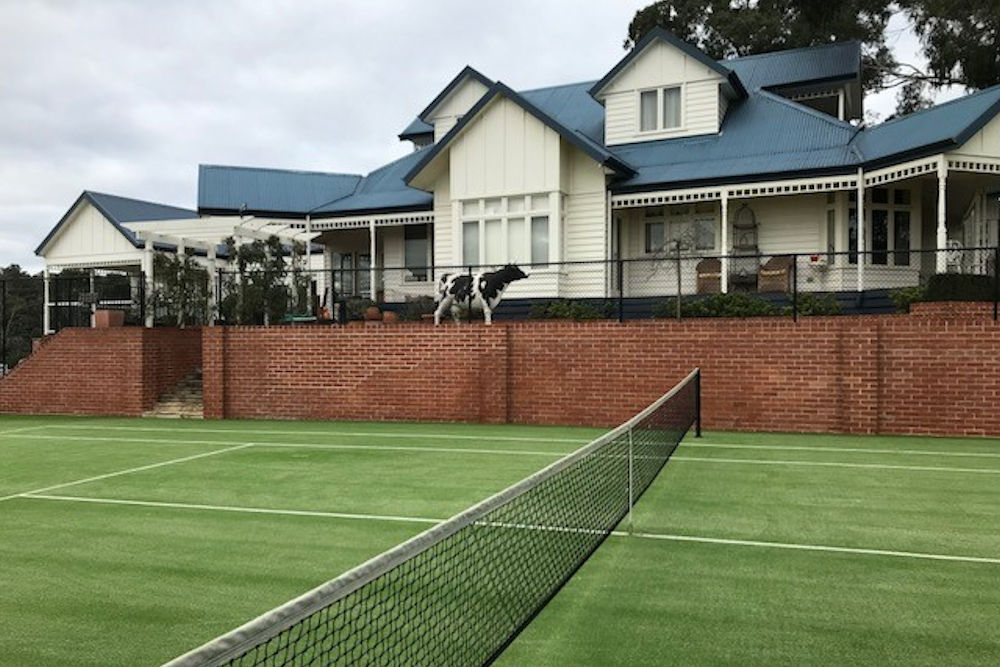 Synthetic Grass Surface Tennis Court Builder Melbourne