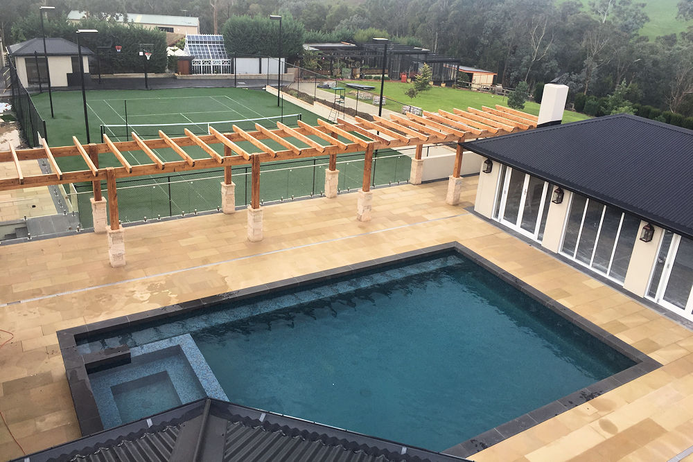 Ultracourts Tennis Court Builders - Pool & Tennis Court Packages