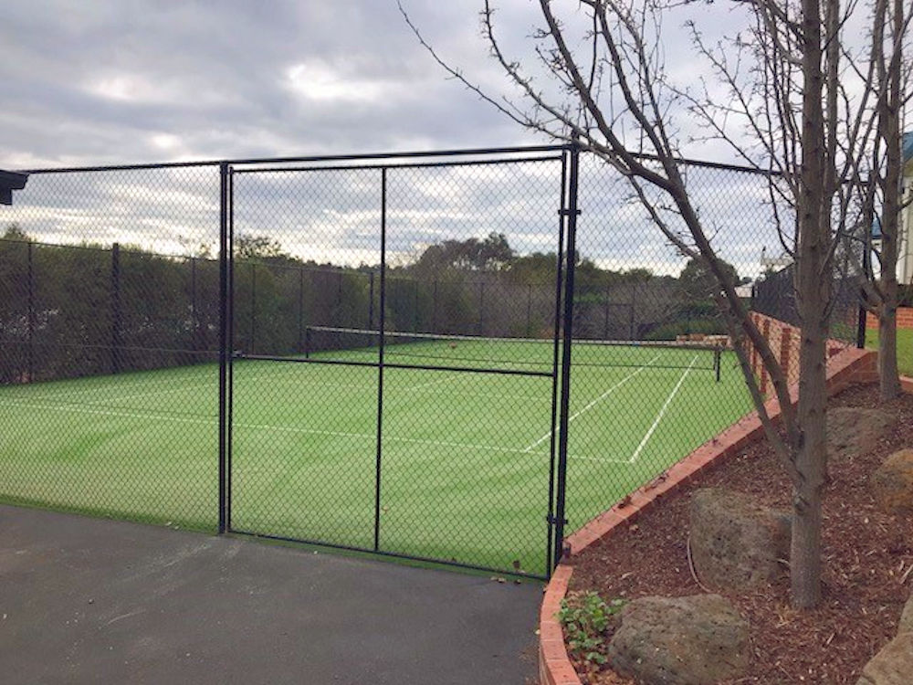 Ultracourts Tennis Court Builders - Double pedestian gates melbourne