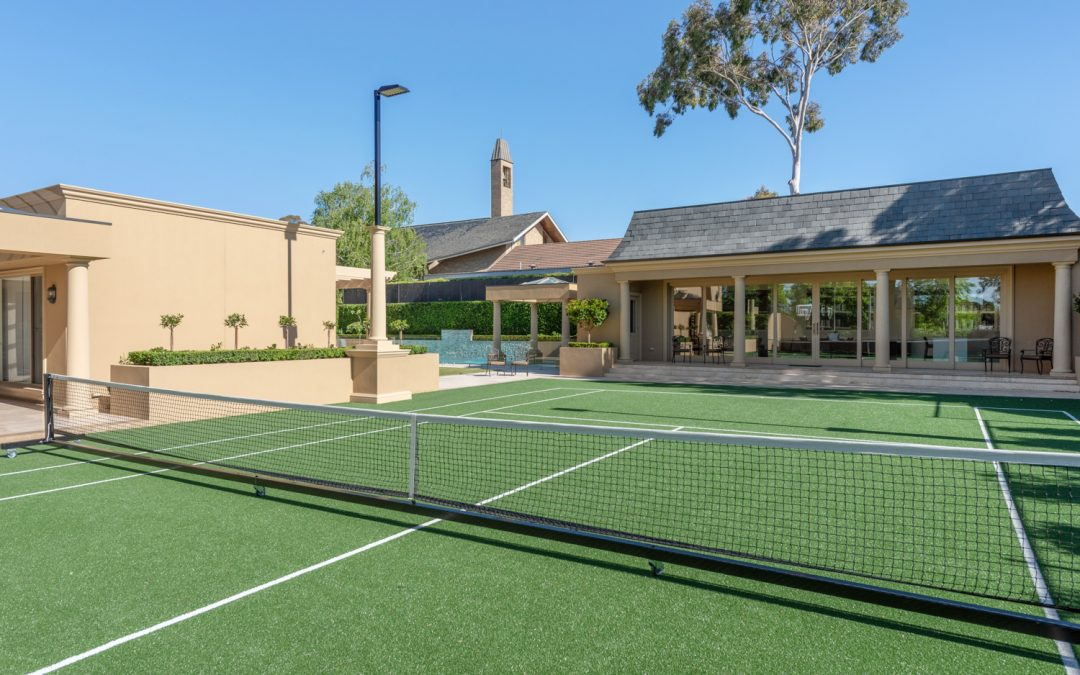 Melbourne Rooftop Tennis Court Build