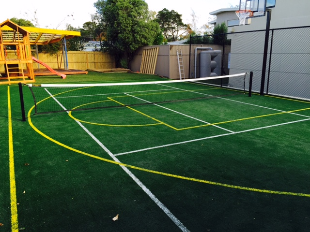 Ultracourts Tennis Court Builders - Multi-purpose synthetic grass court