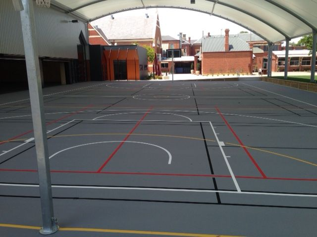 Multisport Acrylic Court Melbourne