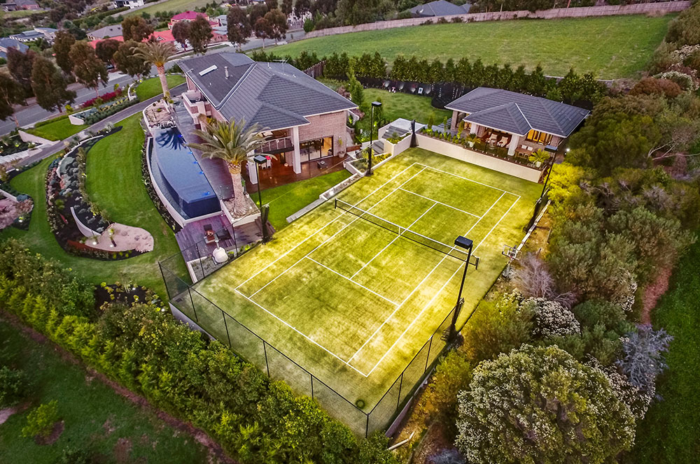 Ultracourts - Building Tennis Courts that say WOW