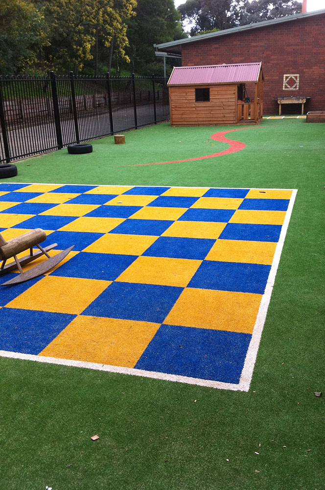 Ultracourts - Court Accessories - Chess Board and Playground