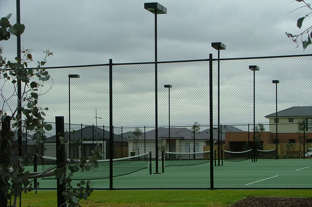 Ultracourts - Court Accessories - Fences and Lighting