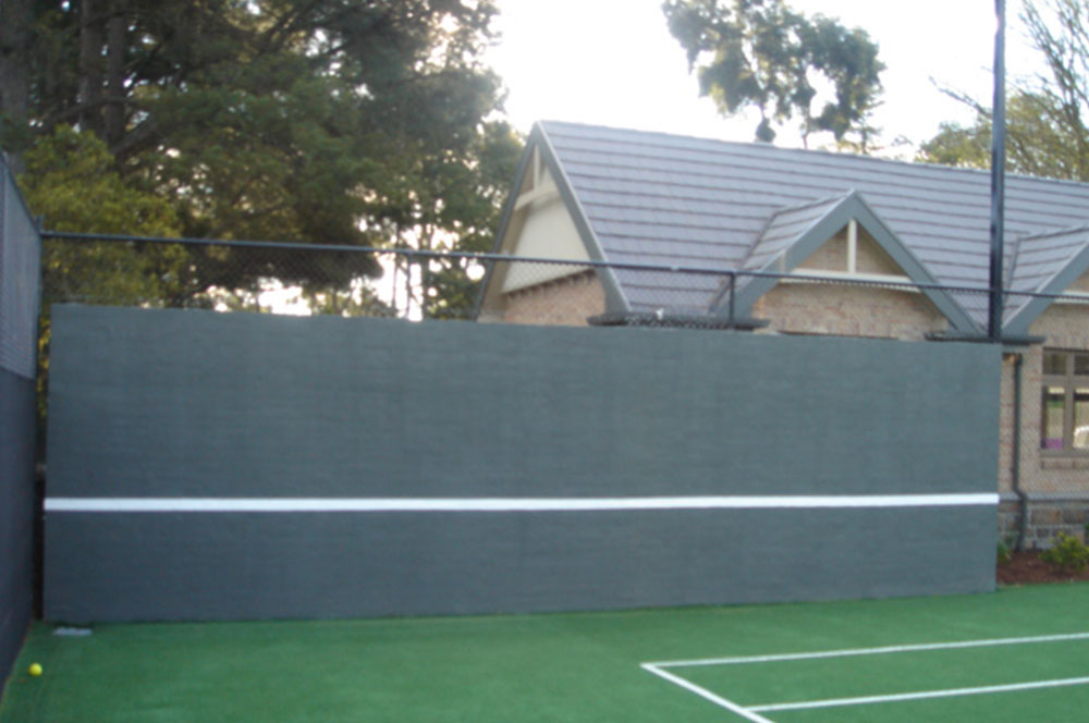 Ultracourts - Court Accessories - Rebound Wall