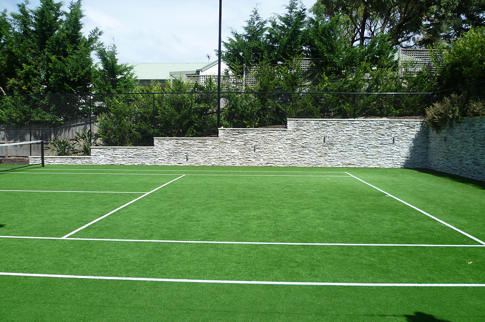 Ultracourts - Court Accessories - Retaining Wall and Fencing