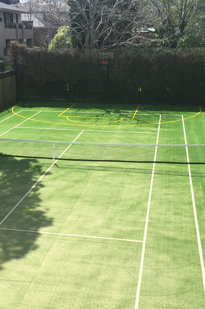 Ultracourts - Tennis Court Accessories - Basketball Court Add On