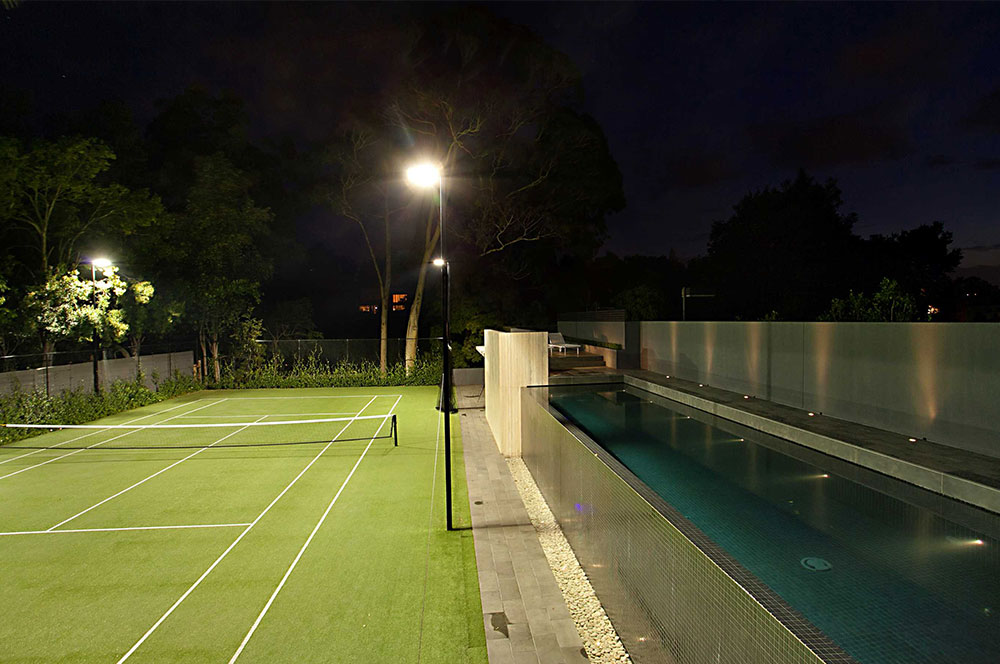 Ultracourts - Tennis Court Accessories - Night Lighting