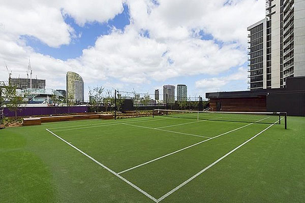 Ultracourts - About Ultracourts Dockland Tennis Court Builders