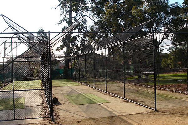 Ultracourts Tennis Court Builders - Associated Works - Cricket Enclosure