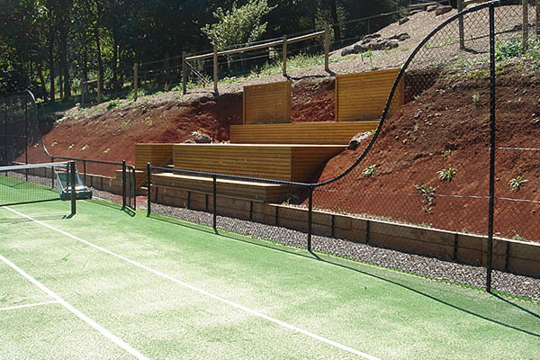 Melbourne Tennis Court Construction