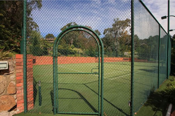 Ultracourts Tennis Court Builders - Associated Works - Curved Gates