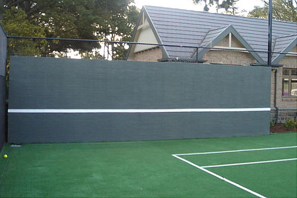 Ultracourts Tennis Court Builders - Associated Works - Hit Up Wall