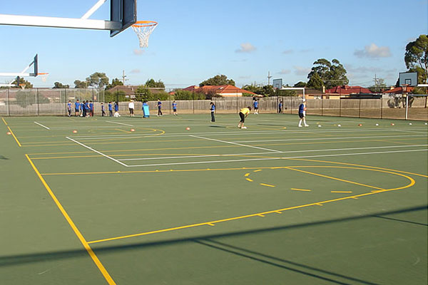 Ultracourts Tennis Court Builders - Associated Works - Mulgrave - Wellington Secondary College