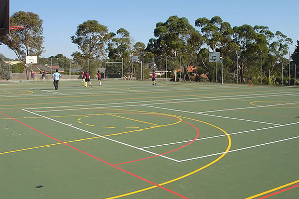 Ultracourts Tennis Court Builders - Multisport Surfaces - Park Orchards - Parkwood Secondary College