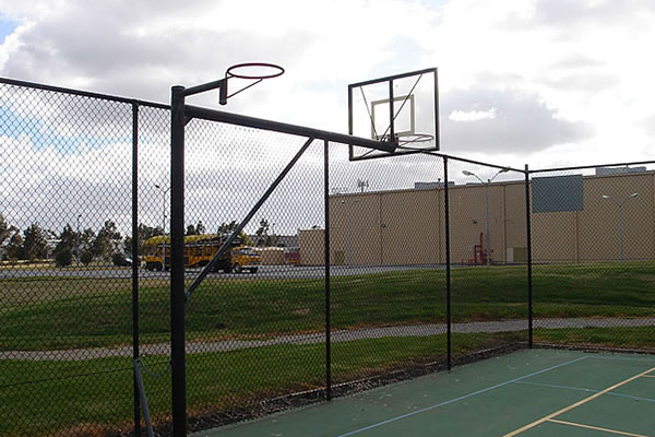 Ultracourts Tennis Court Builders - Associated Works - Swivel Basketball & Netball Hoops