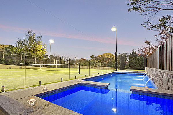 Ultracourts Tennis Court Builders - Pool & Tennis Court Packages - Balwyn