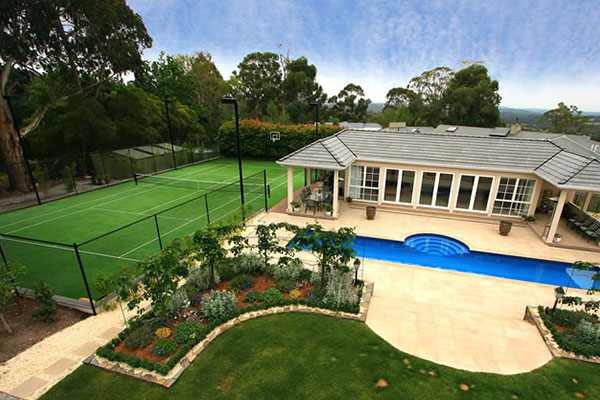 Ultracourts Tennis Court Builders - Pool & Tennis Court Packages - Wheelers Hill